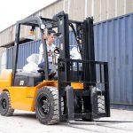 Xe nâng dầu Hangcha 3 tấn