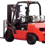 Xe nâng động cơ đốt trong và ứng dụng xử lý vật liệu