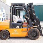 Xe nâng dầu Hangcha 3.5 tấn
